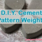 Make Your Own Cement Pattern Weights