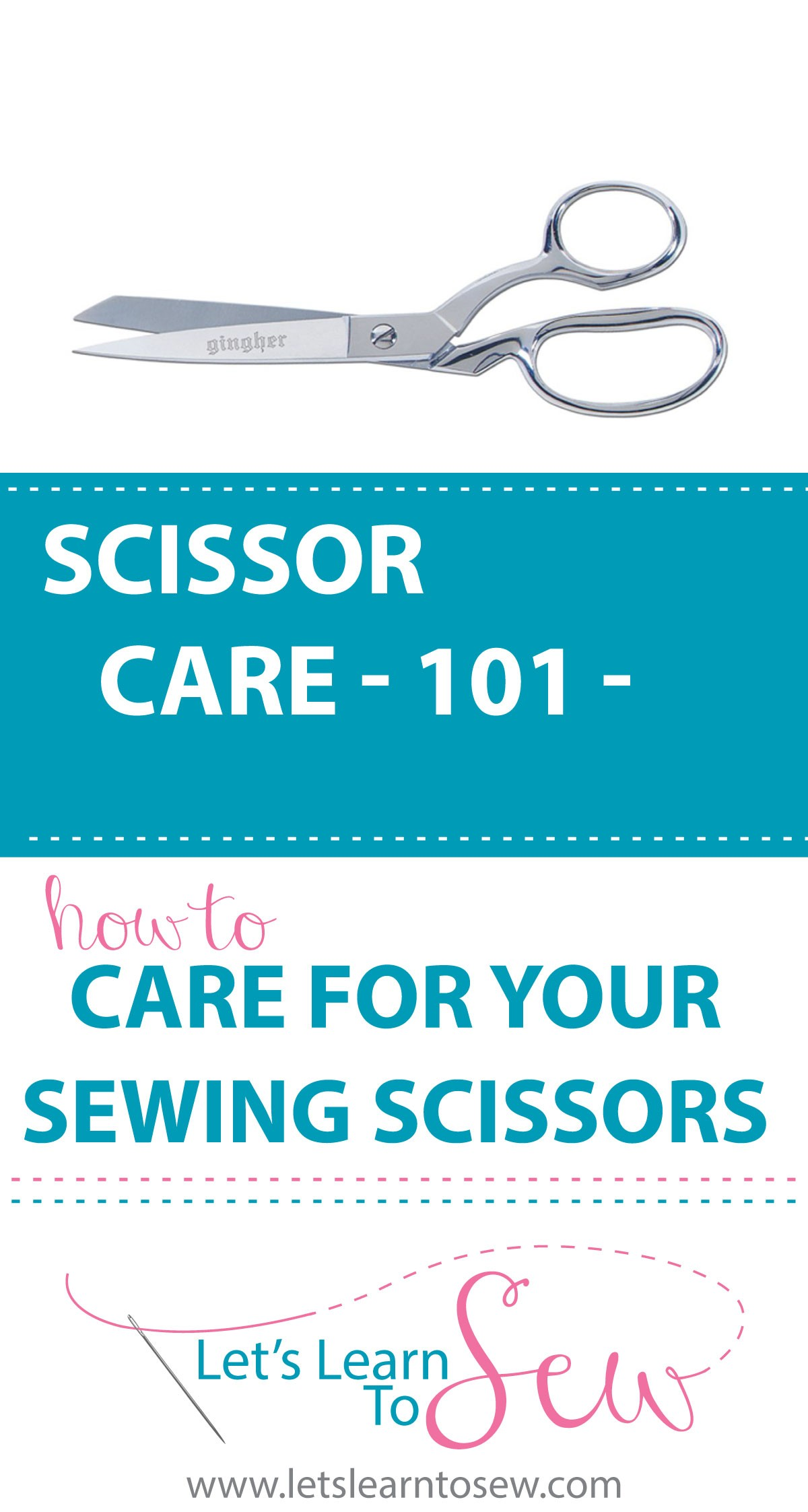 How to properly care for your sewing scissors