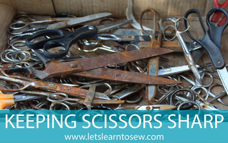 Keeping your scissors sharp: How to properly care for scissors.
