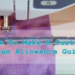 The Perfect Seam allowance
