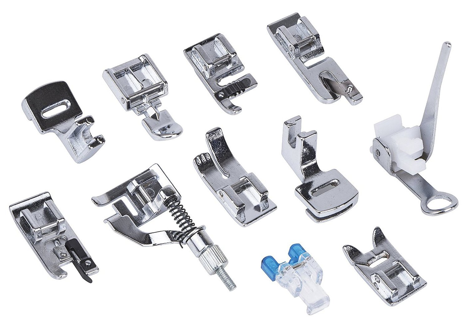 Sunbeam® Sewing Machine Presser Feet Set ,For Brother, Singer, Babylock, Janome