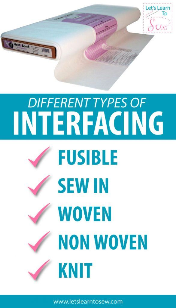Find out how and when to use interfacing