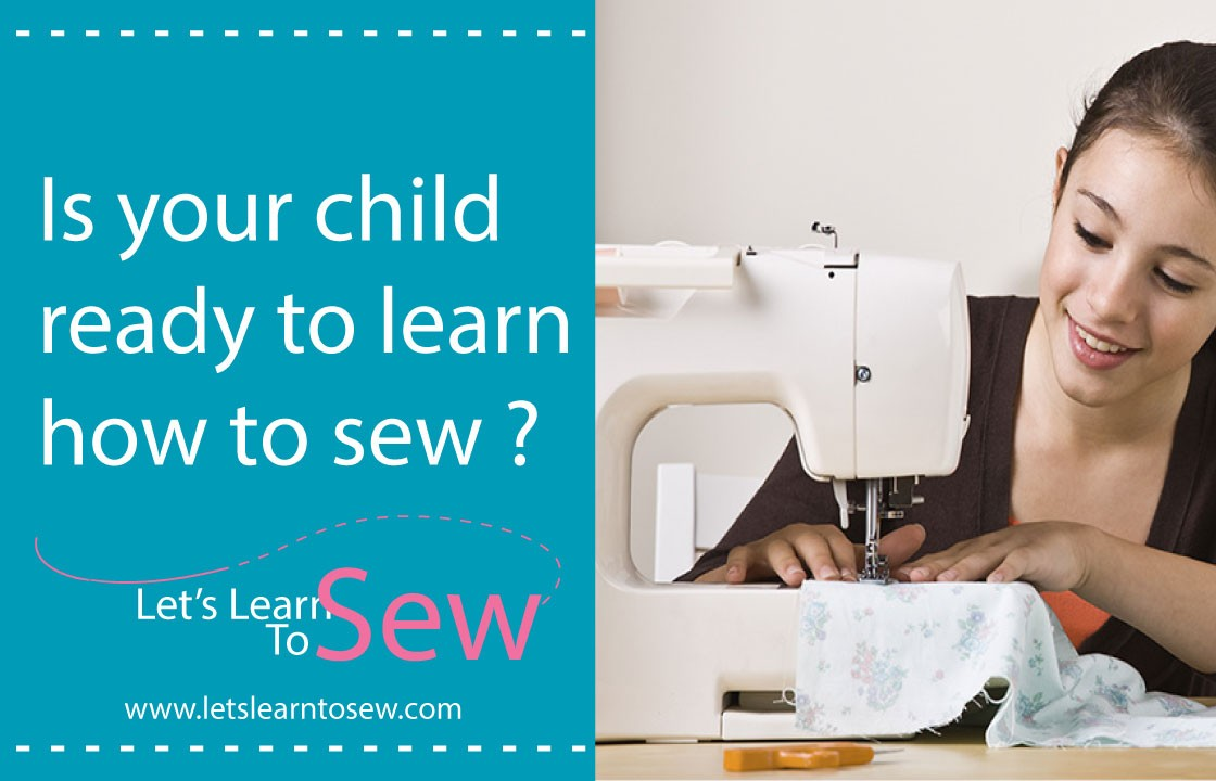 Is your child ready to learn how to sew