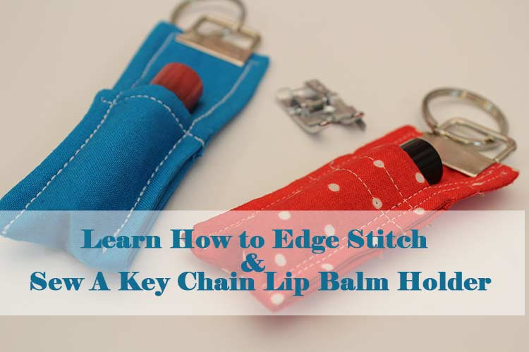 Learn how to top/edge while making this fun chapstick holder. No more washed lip balm!