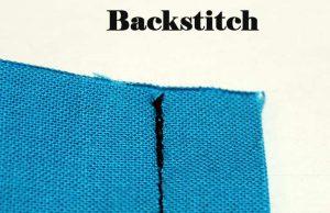 sewing machine backstitch