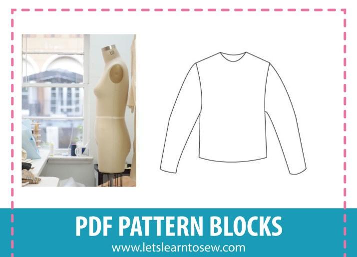 Pattern Blocks to make Pattern Drafting Faster and Easier