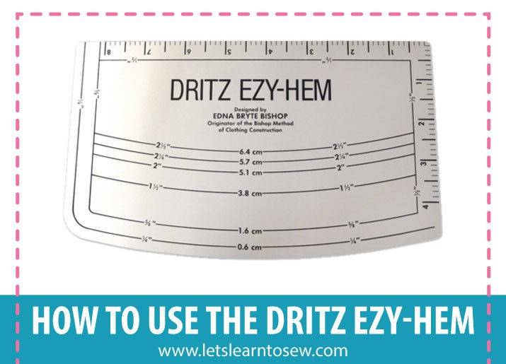 How to use the dritz ezy-hem
