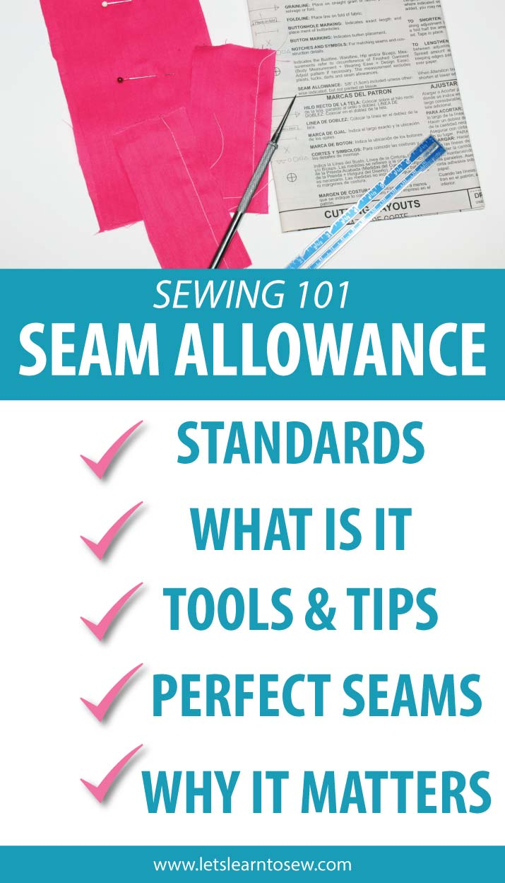 Seam Allowance: Everything you need to know for perfect seams