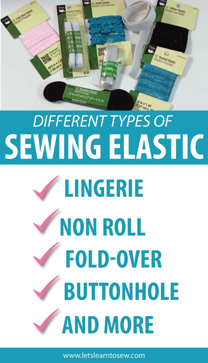 Elastic for sewing. Are you sewing a project that calls for elastic, but aren't sure which type of elastic to use? You've come to the right place!