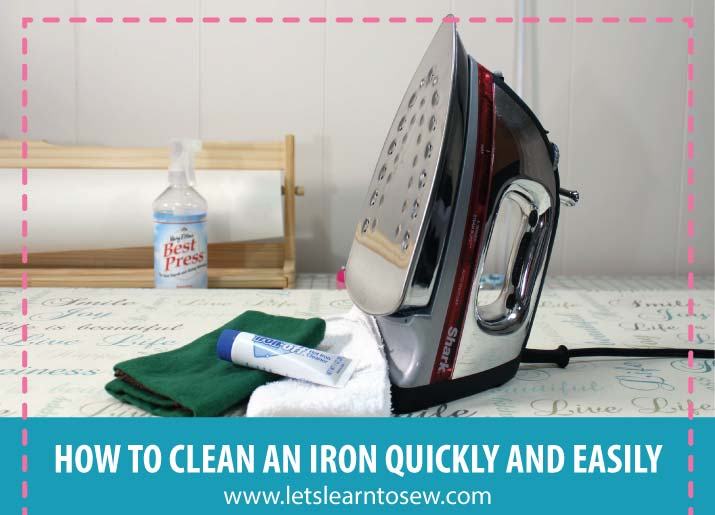 How To Clean An Iron Quickly and Easily