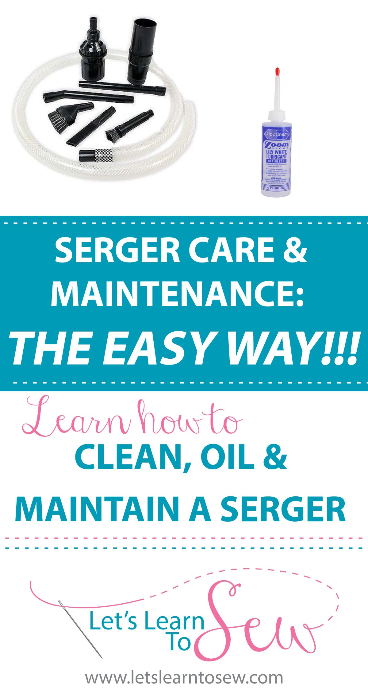 Serger Care & Maintenance: Cleaning, Oiling & More. Does your serger need a fix? Learn the essentials of serger care & maintenance