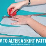 How to Alter a Skirt Pattern for a Perfect Fit