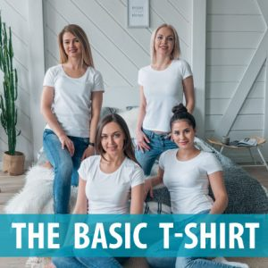 Learn how to draft and sew the perfect fitting t-shirt