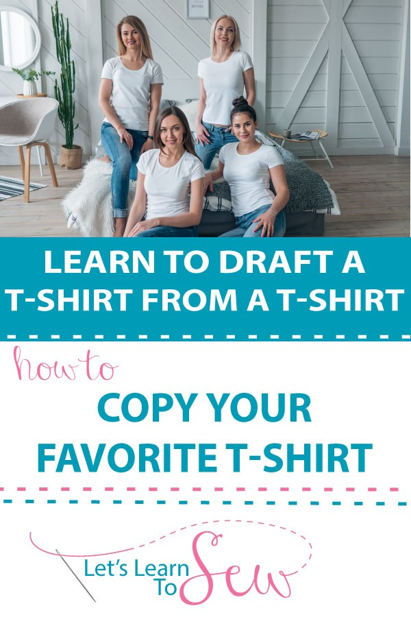 How to Draft a T-Shirt from your Favorite T-Shirt. Drafting a pattern from ready wear is an easy way to reproduce your favorite fitting tshirt.