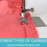Types of Hems and How to Hem a Garment