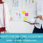 How to Take Measurements for Drafting a Custom Fit Bodice