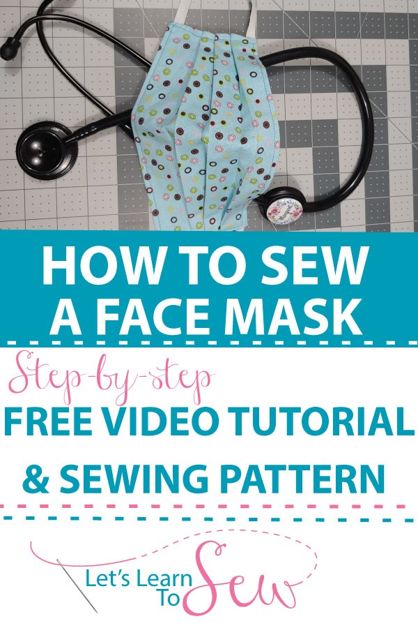 How to sew a Medical Face Mask: Video Tutorial. Please join me in sewing up face mask to donate to medical facilities in need.