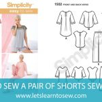 How to Sew a Pair of Shorts Sew-ALong