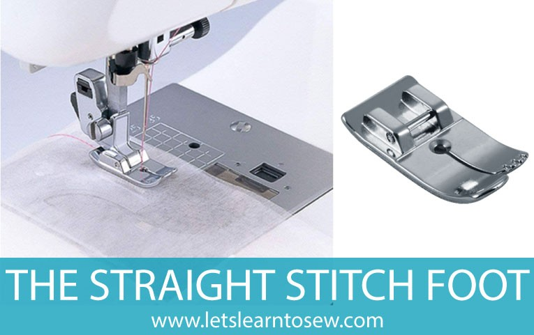 Straight Stitch Foot for sewing machine