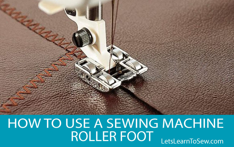 image of sewing machine roller foot