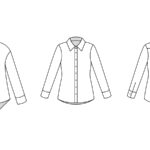 Classic Button-Up Blouse Pattern Sew-Along
